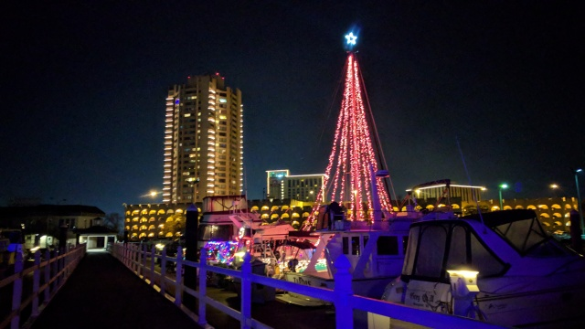 Happy Holidays at the Marina